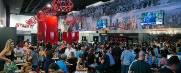 Interior da espeteria Steak In em Goiânia | Foto: Divulgação