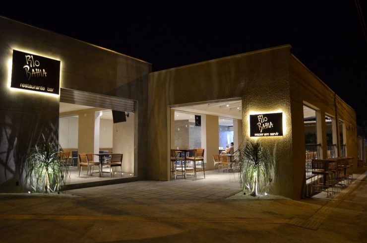 Bar e restaurante Rio Bahia no Setor Marista em Goiânia (Foto: divulgação/Marianna Cartaxo)