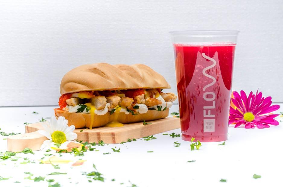 No Flow, cliente encontra comida saudável com praticidade | Foto:Divulgação