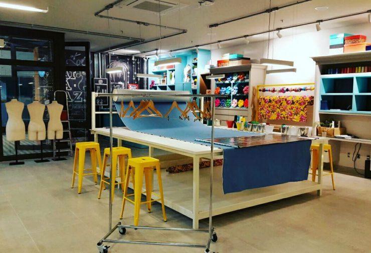 Clô Café Criativo fica em coworking de costura, em Goiânia | Foto: Divulgação