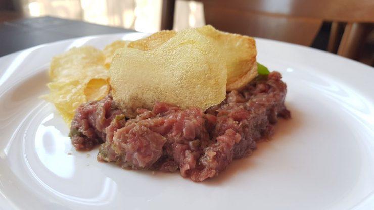 Steak tartare: nova churrascaria em Goiânia ainda precisa melhorar qualidade de ingredientes | Foto: Luísa Gomes/Mais Cinco