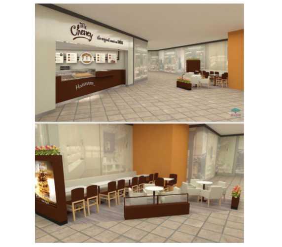 Nova loja do Mr. Cheney fica no Goiânia Shopping | Perspectiva ilustrada: Divulgação