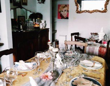 Interior do Le Petit Bistrô, restaurante de comida francesa em Goiânia | Foto: Divulgação