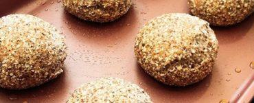Pão de amêndoas é uma das receitas que serão ensinas em curso de culinária low carb de Karine Carrijo | Foto: Karine Carrijo