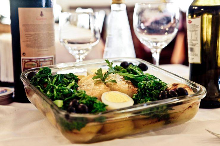 Restaurante Obelisque tem pratos à base de bacalhau tipicamente portugueses | Foto: Divulgação