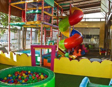 Churrascaria Cateretê tem ampla brinquedoteca para crianças | Foto: Divulgação
