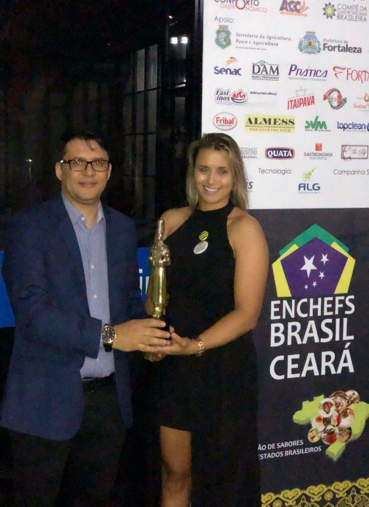 Chef Juliana Barroso, organizadora do Enchefs Goiás, será responsável pela execução do Prêmio Dólmã 2019 em Goiás | Foto: Arquivo pessoal