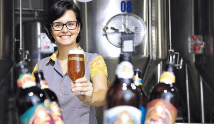 Patrícia Mercês é a liderança feminina por trás da Cervejaria Colombina | Foto: Divulgação