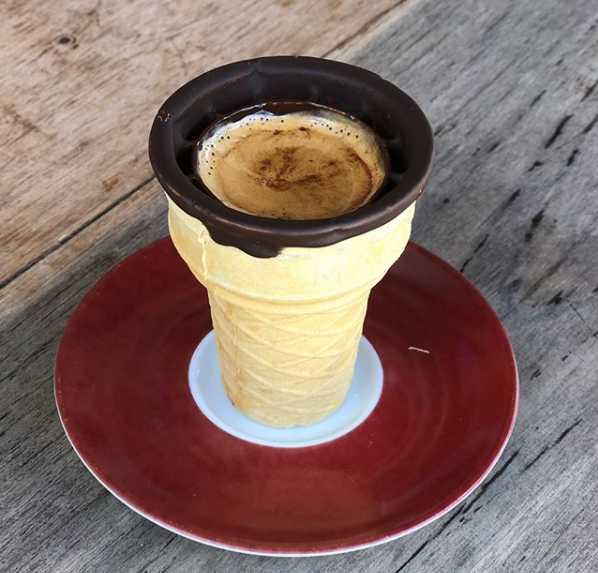 Café na casquinha é servido no Café Cestino em Goiânia | Foto: Divulgação