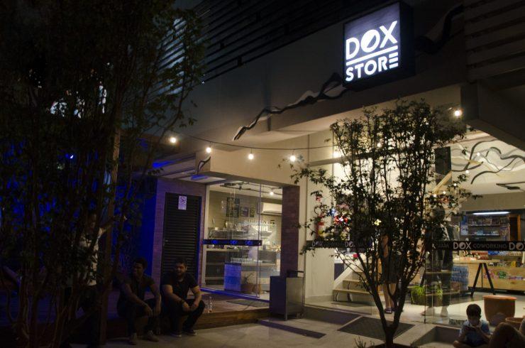 Dox Store está localizada no Setor Marista com coworking, espaço para evento e café | Foto: Divulgação