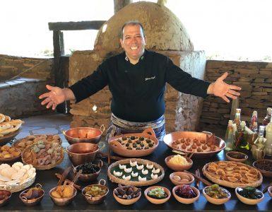 Chef Gilmar Borges promove vivência de culinária goiana em Pirenópolis | Foto: Divulgação