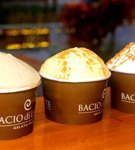 Bacio di Latte celebra um ano da sorveteria em Goiânia com sabores especiais | Foto: Divulgação
