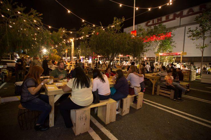 Food Garden reúne restaurantes e food trucks no Shopping Flamboyant | Foto: Divulgação