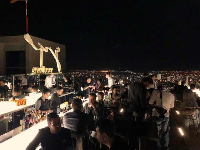 Grá Rooftop - bar fica no topo do edifício Órion em Goiânia | Foto: Luísa Gomes/Mais Cinco