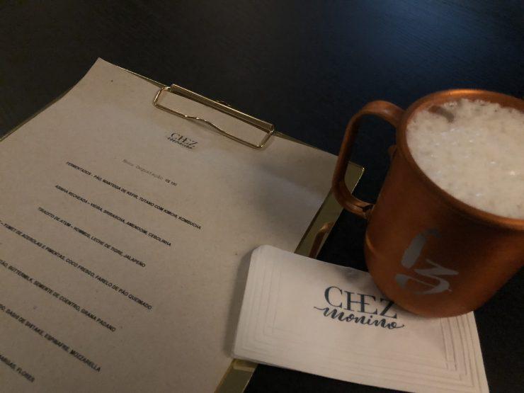 Menu do restaurante Chez Monino em Goiânia | Foto: Luísa Gomes