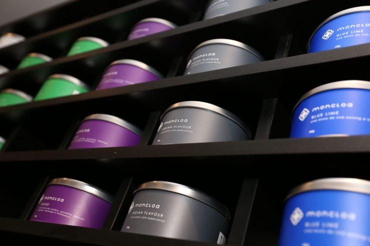Loja especializadas em chás, Moncloa inaugura no Shopping Flamboyant | Foto: Cristiano Borges