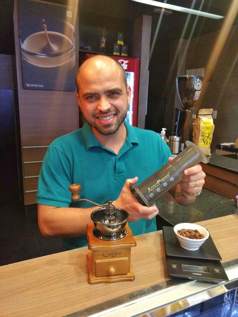 Pablo Jaime, da Speciale Café, vai ministrar workshops sobre a bebida em Goiânia
