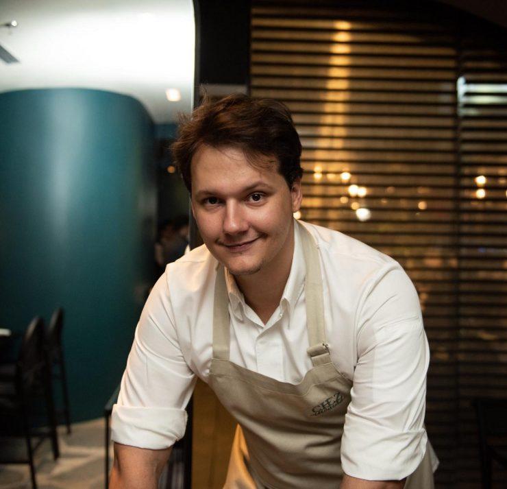 Chef Ian Baiocchi | Foto: Kirah van der Lemon