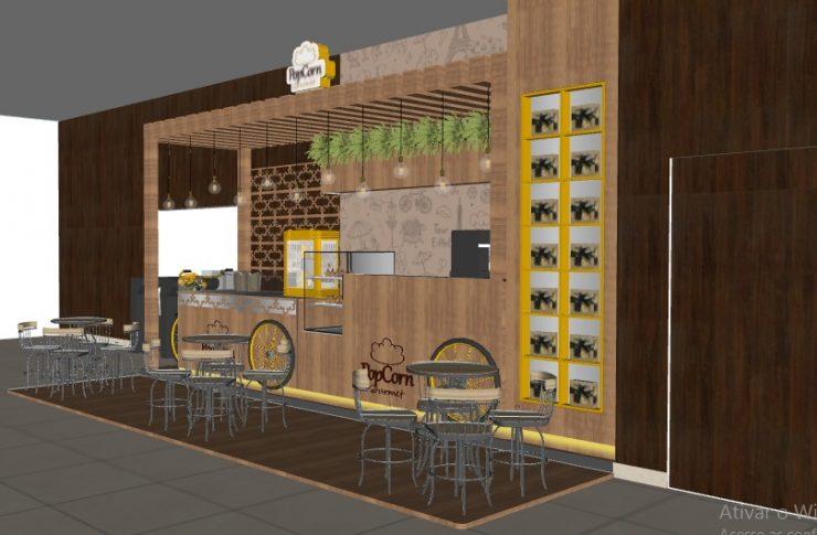 Loja PopCorn Gourmet Store abre no Órion Business Complex