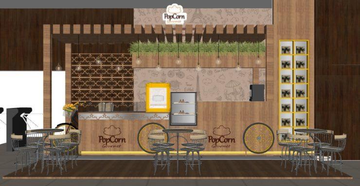 Loja PopCorn Gourmet Store abre no Órion Business Complex em Goiânia