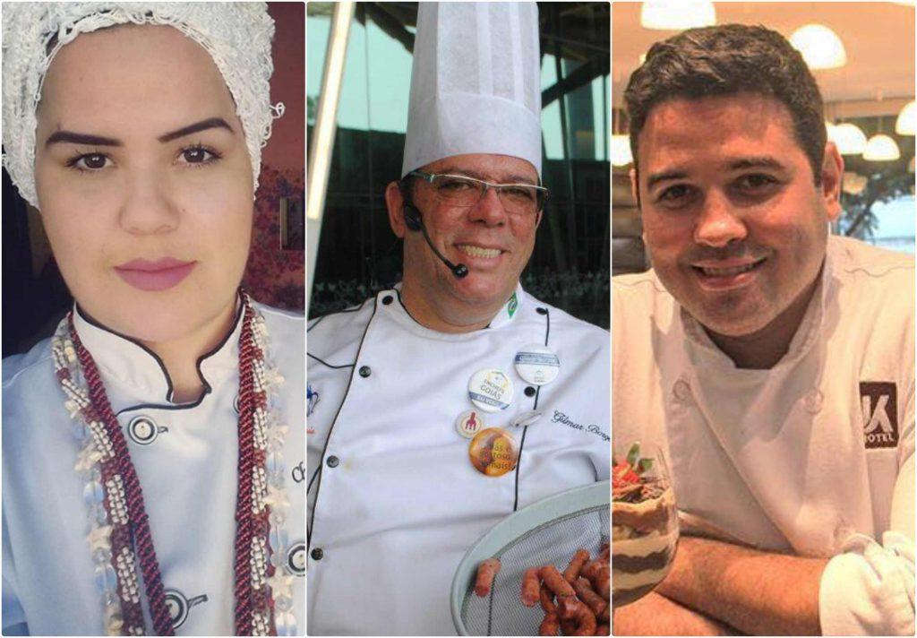 Chefs concorrem ao Prêmio Dólmã Goiás 2019 | Fotos: reprodução