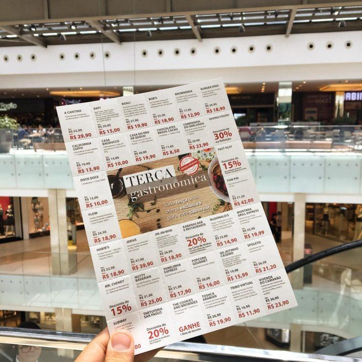 Terça Gastronômica continua com promoções no Flamboyant Shopping | Foto: Divulgação/Flamboyant