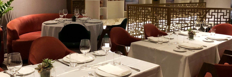 Decoração do restaurante Magna com arquitetura por William Hanna | Foto: Luísa Gomes/Mais Cinco