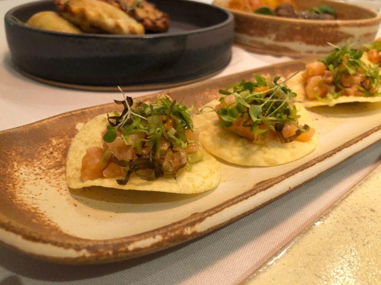 Tortilhas no restaurante Magna em Goiânia | Foto: Luísa Gomes/Mais Cinco