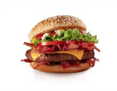 McNífico com dez fatias de bacon é novidade do McDonald's | Foto: Divulgação