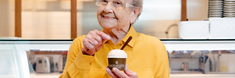 Palmirinha assina novos sabores de sorvetes da Bacio di Latte | Foto: Divulgação