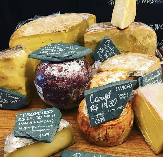 Dom Rico tem queijos e outros produtos artesanais | Foto: Divulgação