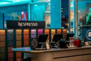 Loja Nespresso no shopping Flamboyant em Goiânia | Foto: Flamboyant Shopping