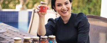Empresária Camilla Moura tem marca Doce Mais, especializada em doces fitness | Foto: Divulgação