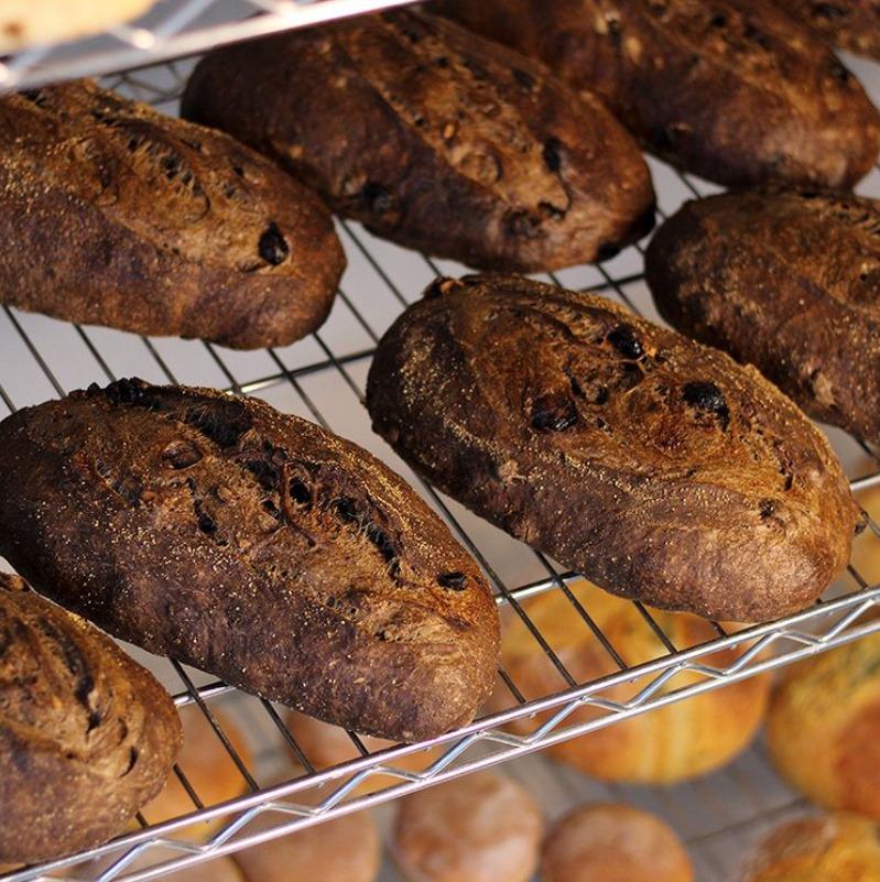 pão artesanal chocolate Bendita Madre