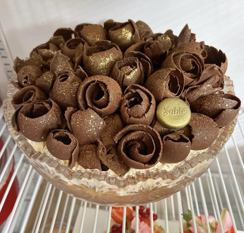 Sablé também tem torta tipo banoffee pie em Goiânia   Foto: Divulgação