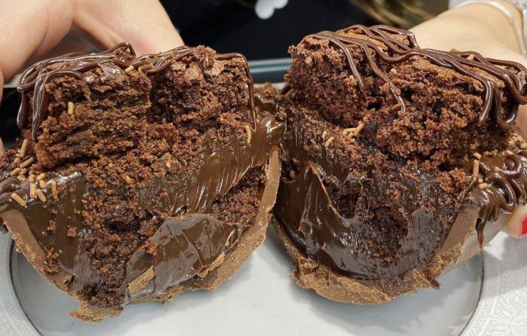 Ovo de chocolate Cacau 70 Confeitaria