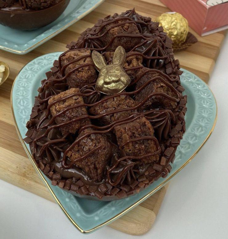 Ovo de chocolate Tortas Delícia