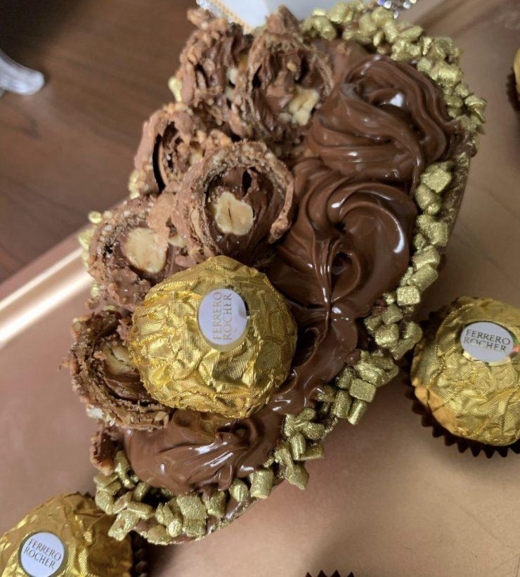 Ovo de chocolate Docerya Na