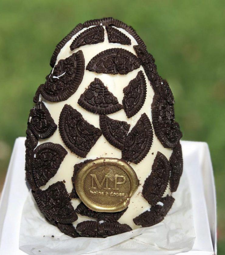 Ovo de chocolate Melissa Pitman Patisserie