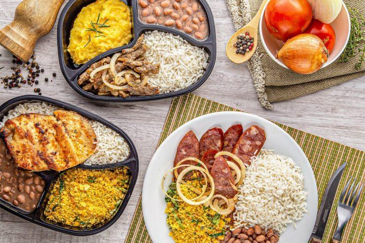 delivery de almoço em Goiânia