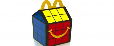 Caixinha McLanche Feliz Rubik's cubos mágicos