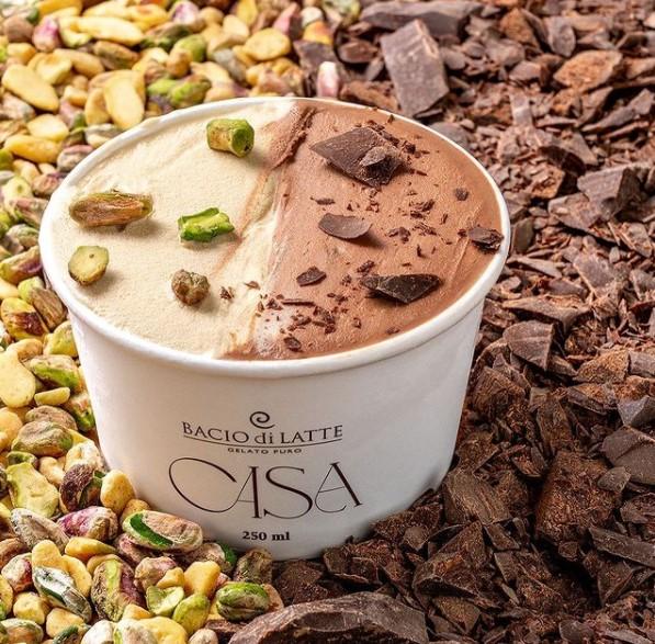 sorvetes zero em Goiânia da Bacio