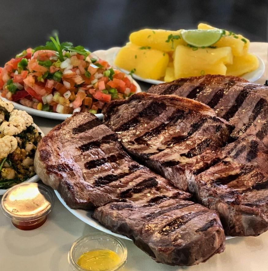 Carne de Sol 1008 é opçõa de carne assada no espeto em Goiânia | Foto Divulgação