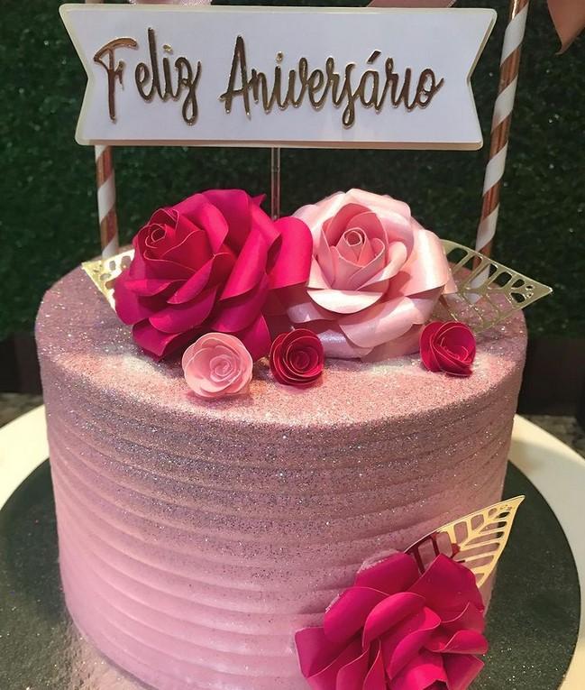 bolos decorados em Goiânia da Vitória Tortas e Doces