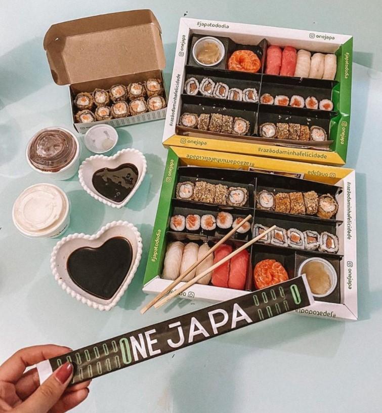 sushi por 1 real em Goiânia One Japa