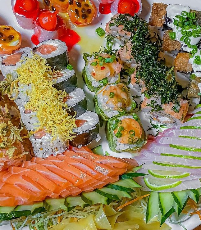 sushi por 1 real em Goiânia