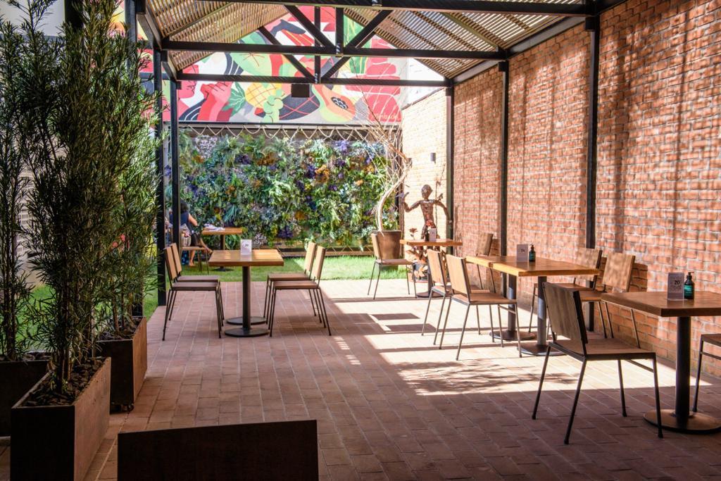 Ambiente do restaurante Balada Mix em Goiânia