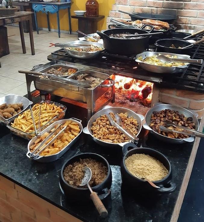 Sabores brasileiros em Goiânia no restaurante Chão Nativo I
