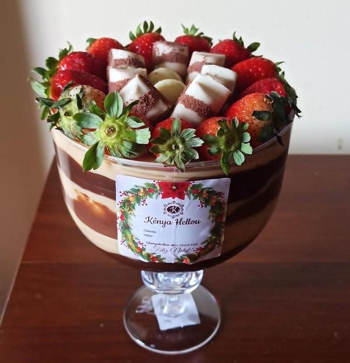 Torta na taça em Goiânia é opção na Kênya Hellou