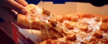 Pizza barbecue Domino's